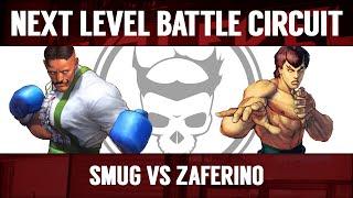 Next Level Battle Circuit 122 - USF4 - Grand Final - PIE Smug (Dudley) vs Zaferino (Fei Long)