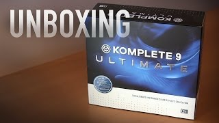 Komplete 9 Ultimate | Unboxing