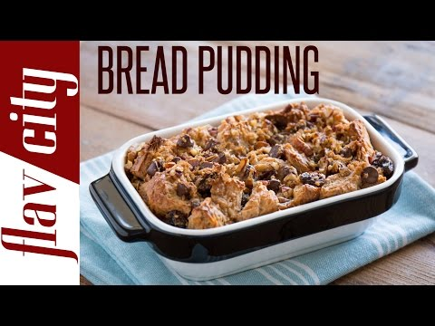 Lazy Man's Bread Pudding Recipe - Quick & Easy Dessert Recipe