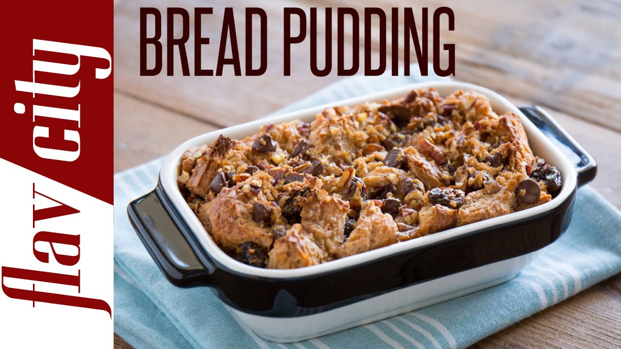 Fast easy bread pudding recipe