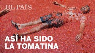 Así ha sido Tomatina de Buñol 2017 | España