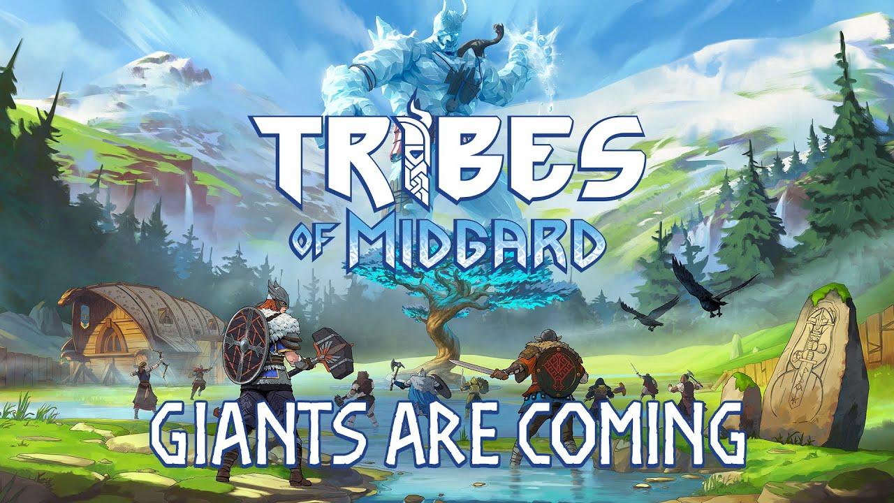 《Tribes of Midgard》巨人来袭预告片 [开启中文字幕]