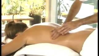 Общий массаж тела Женщине Массажный салон Видео урок