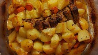 Быстро и просто рецепт на ужин картошка с мясом