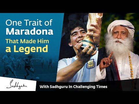 One Trait of Maradona that Made Him a Legend