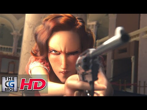 """CGI 3D Animated Short: """"For A Fistful Of Toffees"""" - by ESMA 