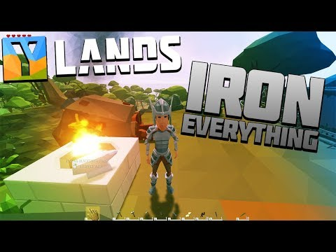 Ylands Episode 2 Getting all the Iron Armor and Iron Tools  !! Lets Play Ylands Gameplay | Z1 Gaming