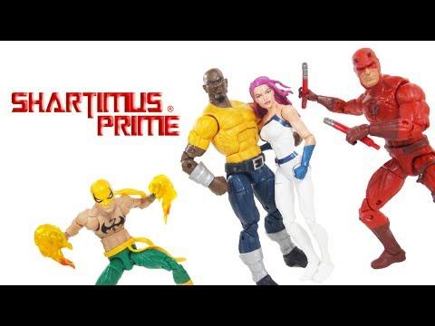 Marvel Legends The Defenders Box Set Amazon Exclusive Hasbro Comic Action Figure Toy Review
