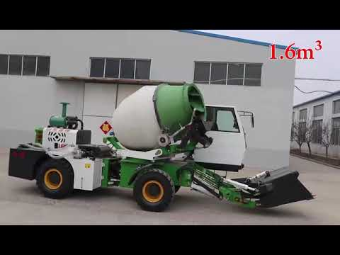 On Site Small Self Loading Concrete Mixer Truck for Sale At ...