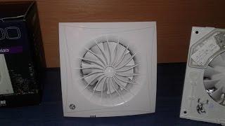 Распаковка вытяжного малошумного вентилятора с таймером Blauberg Sileo 100 T(Распаковка малошумного вытяжного вентилятора с таймером задержки отключения Блауберг 100 Силео Т (Blauberg..., 2017-01-27T12:08:58.000Z)