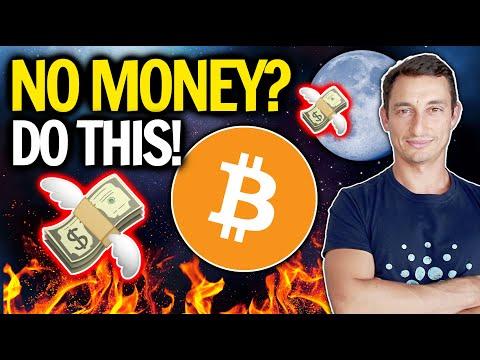 NO MORE MONEY TO BUY BITCOIN IN CRYPTO CRASH?! DO THIS NOW…