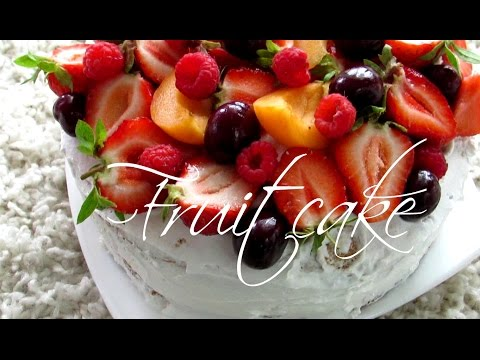argejinny fruit cake фруктовый торт
