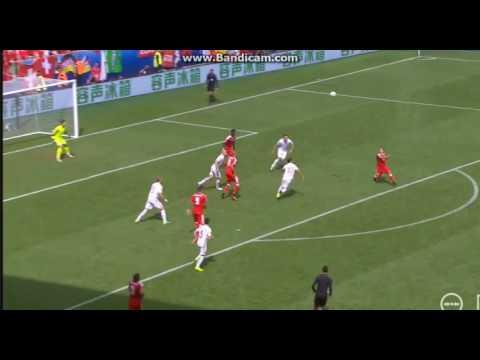 Xerdan Shaqiri Amazing Overhead Kick vs Poland
