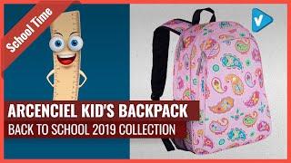 ArcEnCiel Kid's Backpack 2019 BAck To School Collection