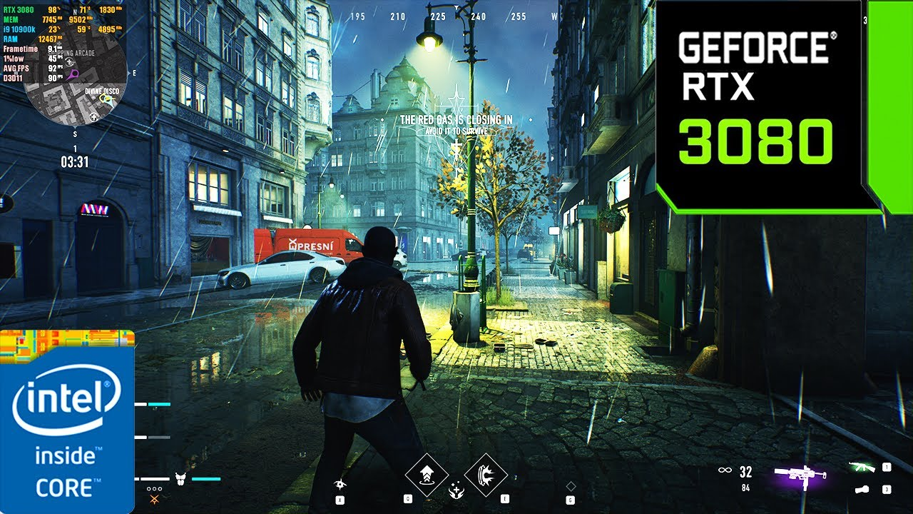 Bloodhunt : Battle Royale | RTX 3080 10GB ( 4K Maximum Settings )