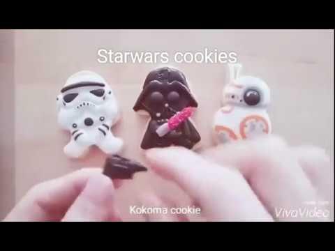 【Kokoma】超可愛星際大戰糖霜餅乾 Star Wars Cookies With Royal I