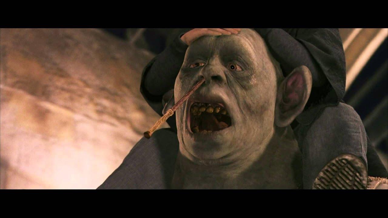 Harry Potter 1 Le Troll Sc 232 Ne Culte Youtube