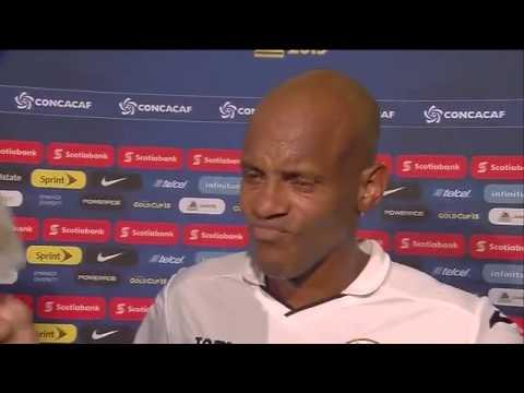 #Cuba Post-Match Interview No.10 Ariel MARTINEZ #GoldCup2015 #...