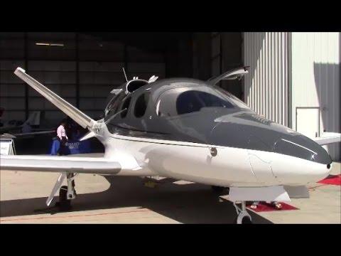 Cirrus Personal Jet Exterior Detail Walkaround