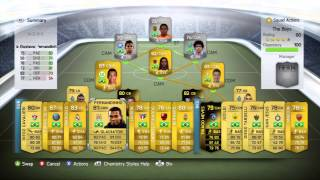 FIFA 14 Ultimate Team Tutorial | Best Chemistry Styles