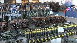 その数なんと1万以上!スペイン警察が押収したテロリスト向けの武器の数