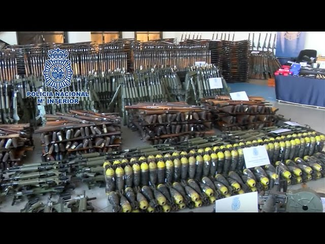 Enough for a small war or little coup: 10,000+ of firearms seized by Spanish police & Europol