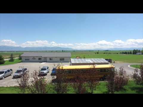 Manhattan Christian School Arial Footage