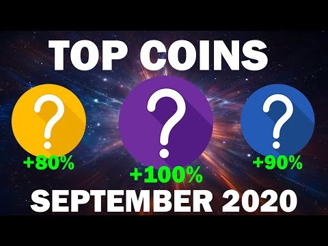 September 2020 Best Altcoins for HUGE Gains | Monthly Top Crypto Picks