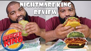 BURGER KING'S NIGHTMARE KING REVIEW
