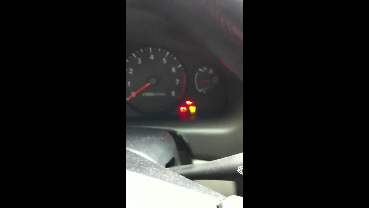 2004 Nissan Sentra S MIL reset  YouTube