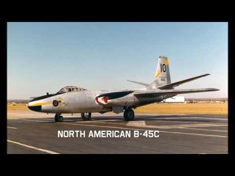 North American B-45 Tornado (Rare Videos)
