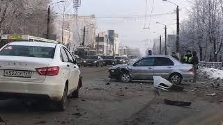 ДТП Воровского-Горького. Киров