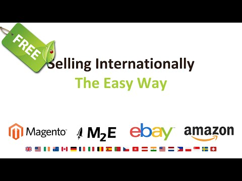 Why Sell Internationally? Cross Border Trade in Plain English & the EASY Way