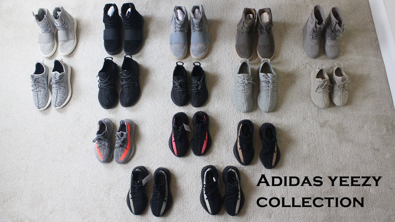 adidas yeezy boost collection