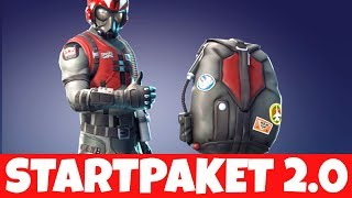 NEW WINGMAN SKIN STARTER PACKAGE! EPIC NEW SKIN | Fortnite Starter Pack
