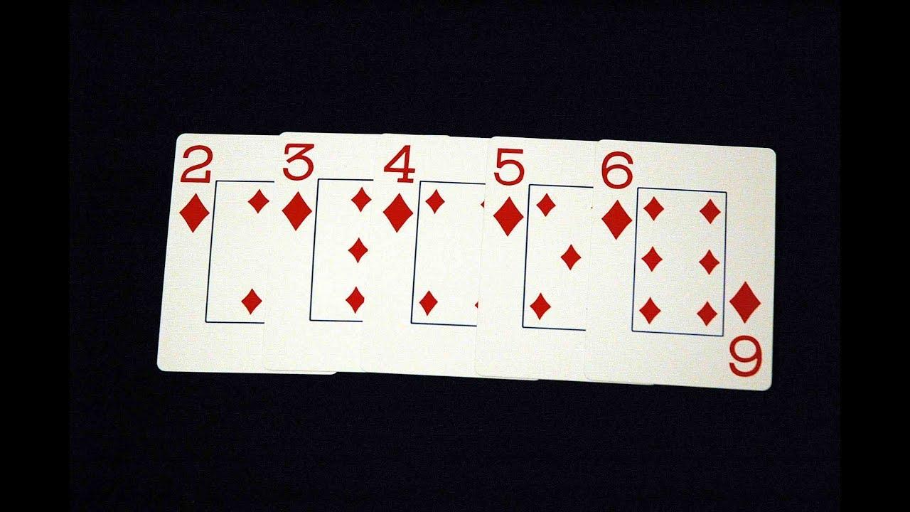 Стрит Флеш - восьмая комбинация в покере