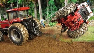 RC TRACTOR RESCUE ON THE FARM - Rc Toys Fun & Action