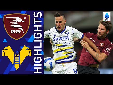 Salernitana Helas Verona Goals And Highlights