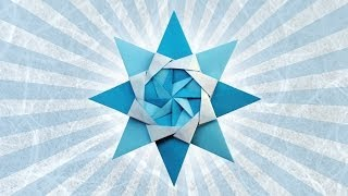 Origami Corona Boreale Star (maria Sinayskaya)