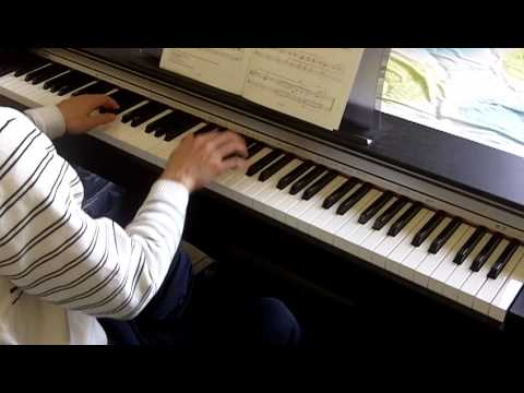 ABRSM Piano 2011-2012 Grade 2 C:3 C3 American Folk Down by the Riverside Slow 1