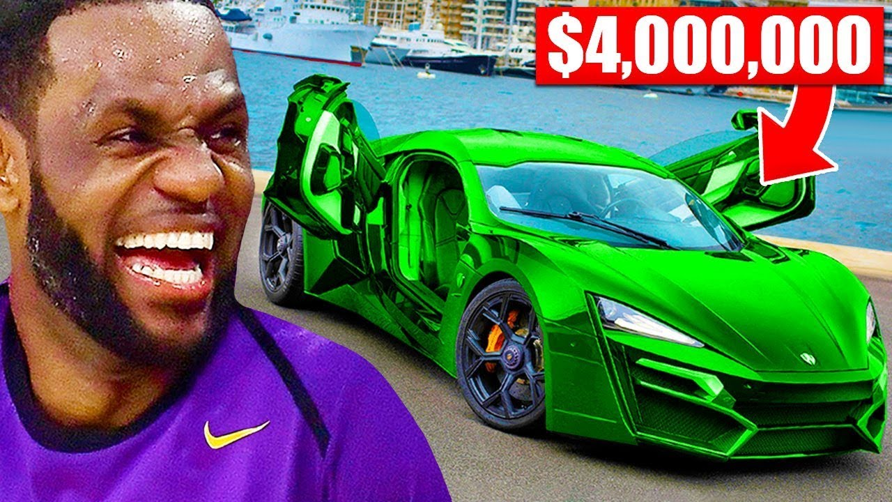 The Most Expensive Cars Of Nba Players Lebron James