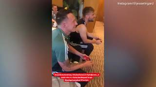 Video  Manchester United stars relax in Hertfordshire hotel before FA Cup
