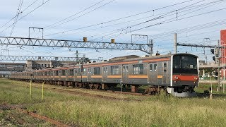 [Japan Railway]武蔵野線205系M13快速 ジャカルタ行き新津到着 Musashino 205 Train for Jakarta