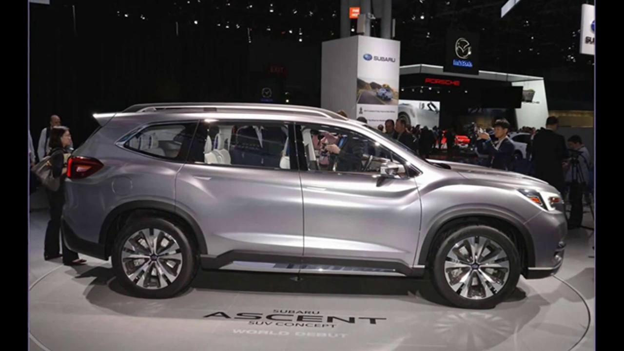 New Subaru Ascent 2018 Full Size Suv