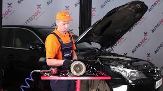 How to replace Suspension springs on BMW 5 (E60) - video tutorial