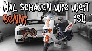 Mal schauen was unser Roller bei Benni macht! - Audi R8 V10 BiTurbo | Philipp Kaess |