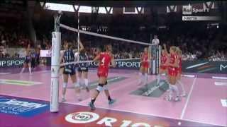 130316 Coppa Italia Semi Final: Unendo Yamamay Busto Arsizio - Mc Carnaghi Villa Cortese part1/2