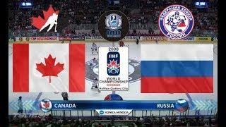 Чемпионат Мира 2009 Финал  Russia   Canada  Final   HD 50fps