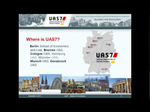 2011-11-09 12.31 Undergraduate grants for study, research and interning in Germany.wmv