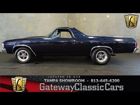 967 TPA 1972 Chevrolet El Camino 396 CID V8 Turbo 400
